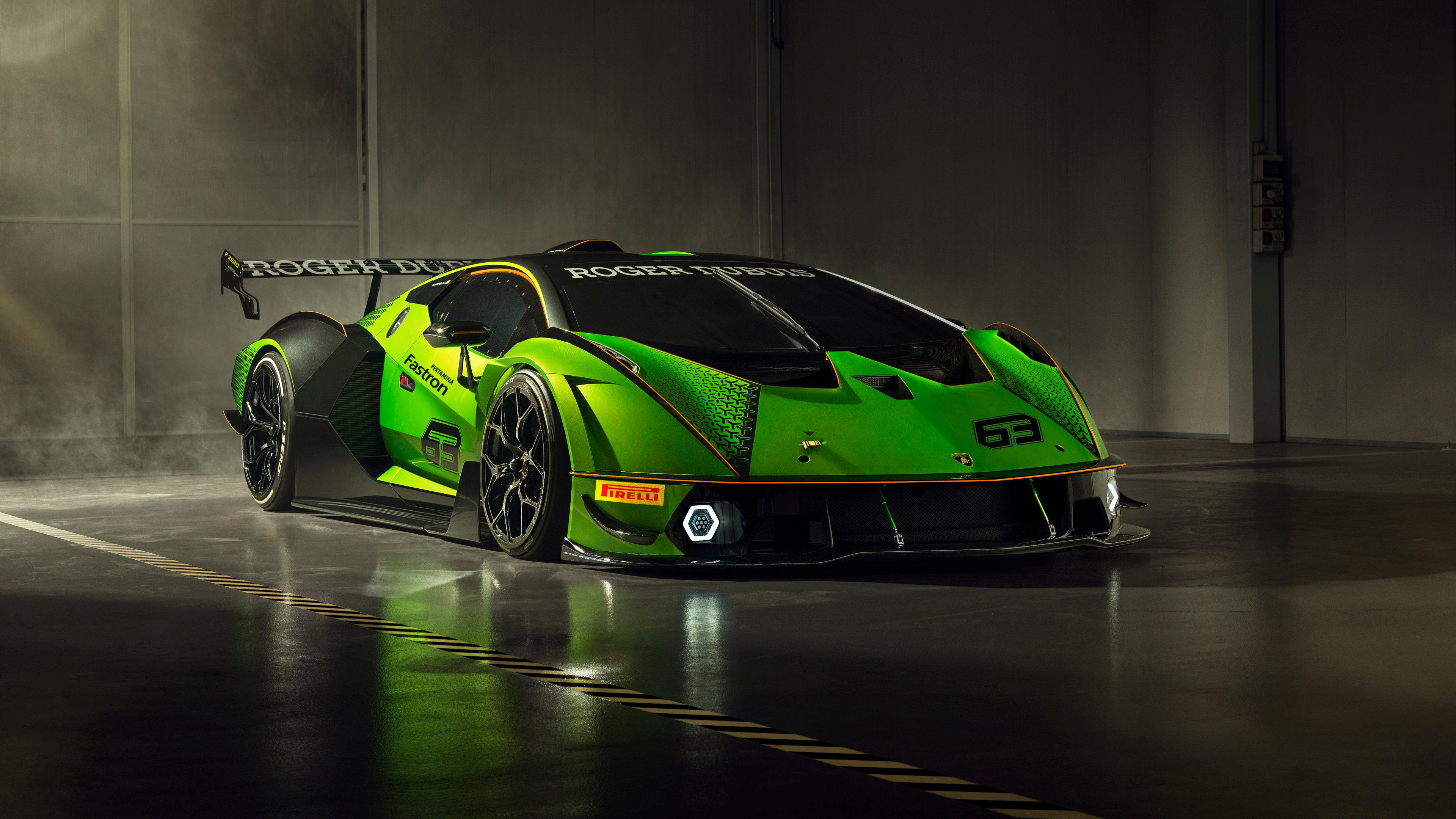 汽车天下,兰博基尼,跑车,绿色