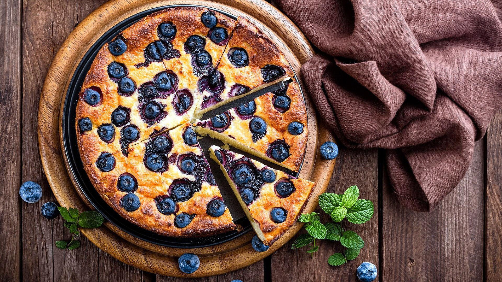 小清新,舒缓压力,披萨,蓝莓,饼子,西餐