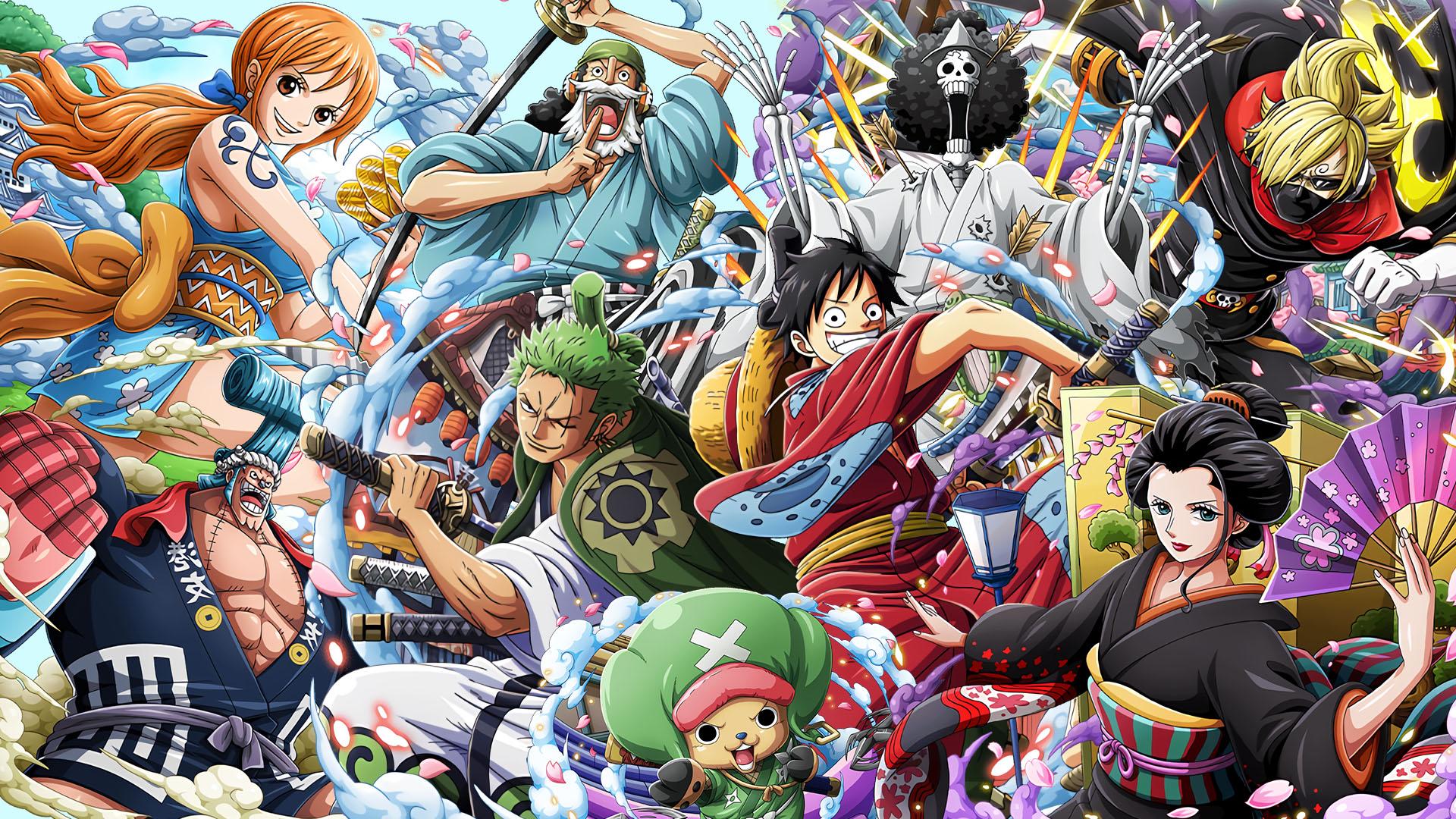 动漫卡通,海贼王,航海王,和之国,路飞,草帽海贼团