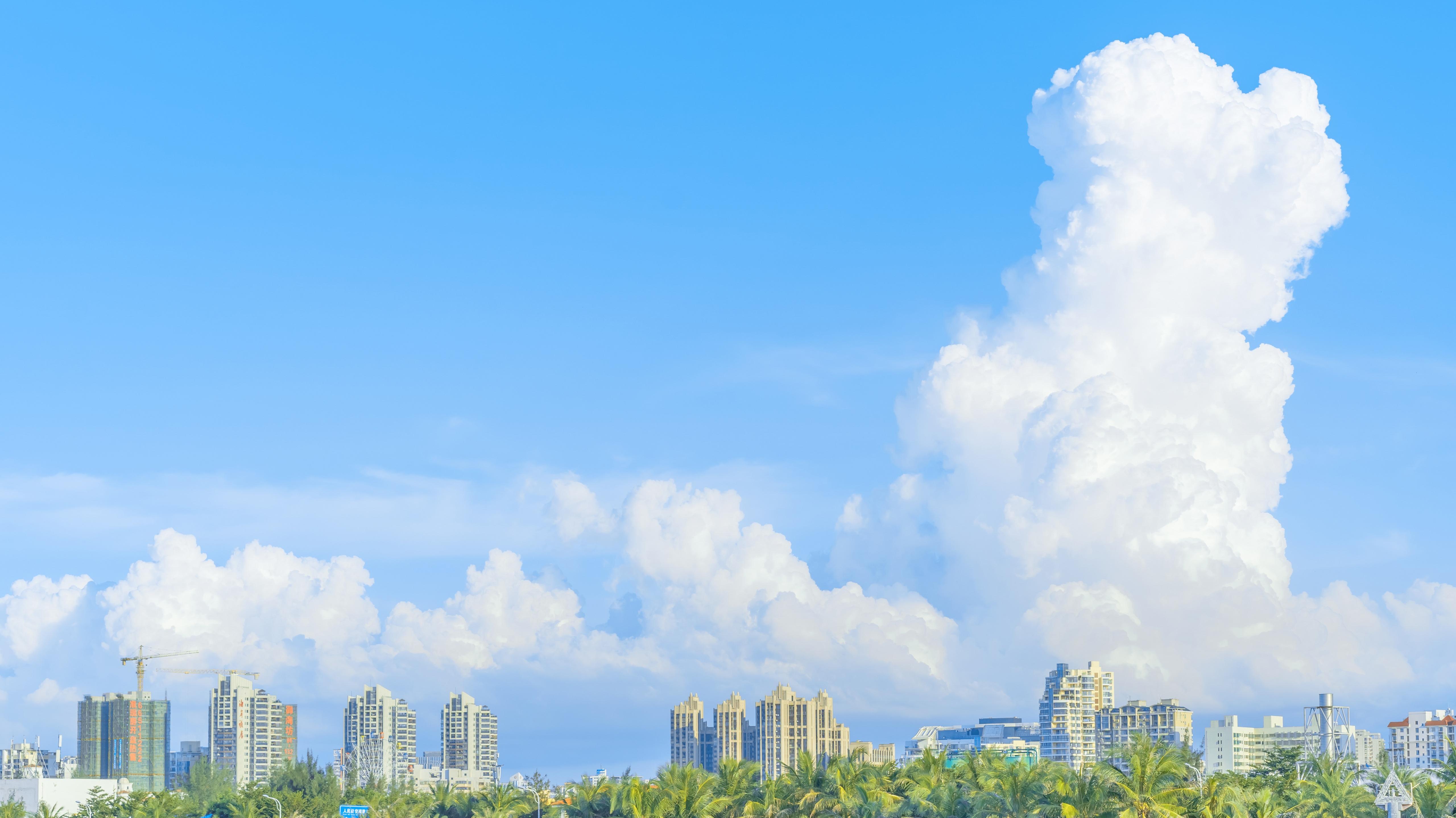 风景大片,蓝天白云,天空,,白云,,阳光明媚