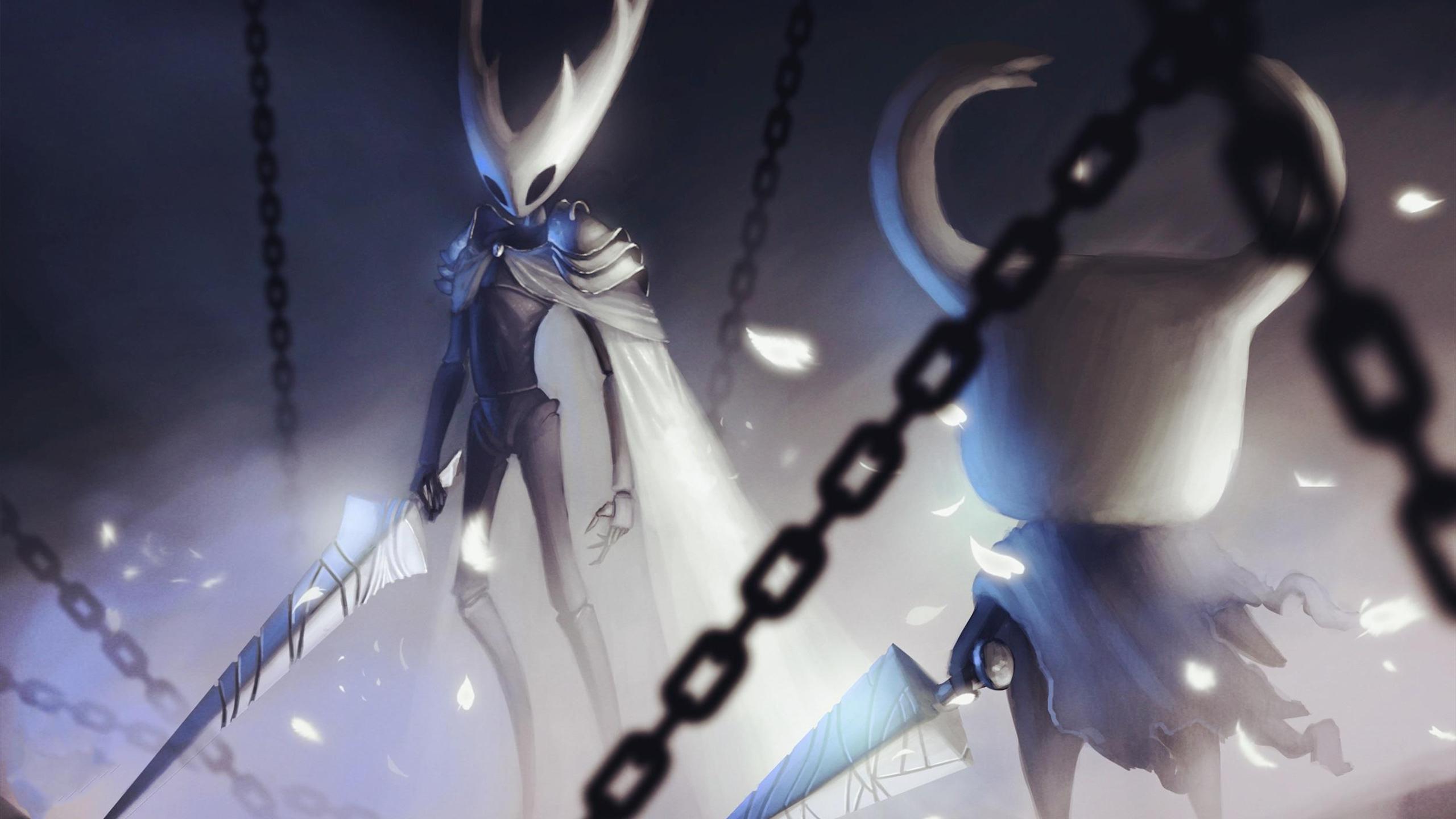 游戏壁纸,主机游戏,空洞骑士,锁链