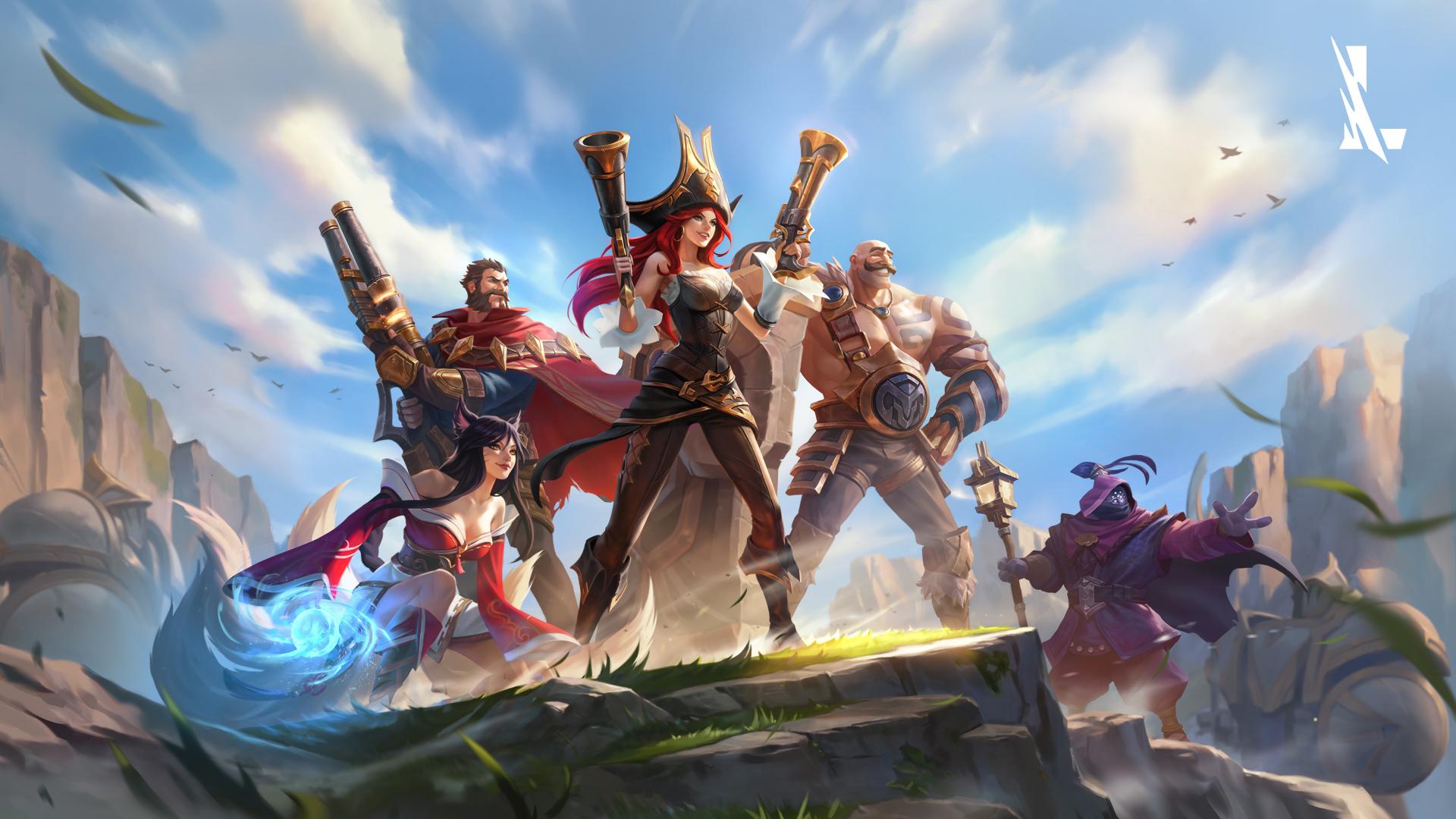 游戏壁纸,英雄联盟,LOL,赏金猎人,阿狸