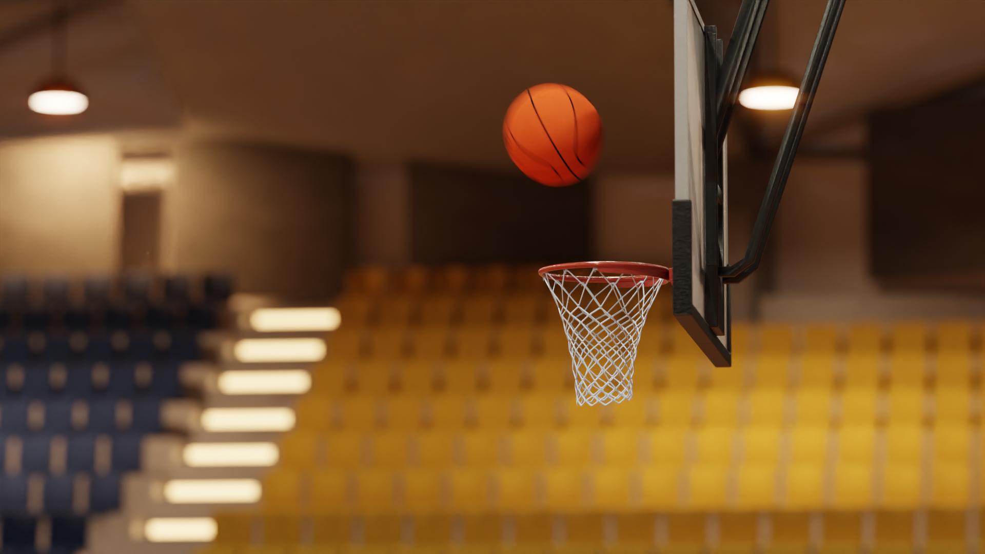 劲爆体育,篮球,篮筐,赛场,体育馆