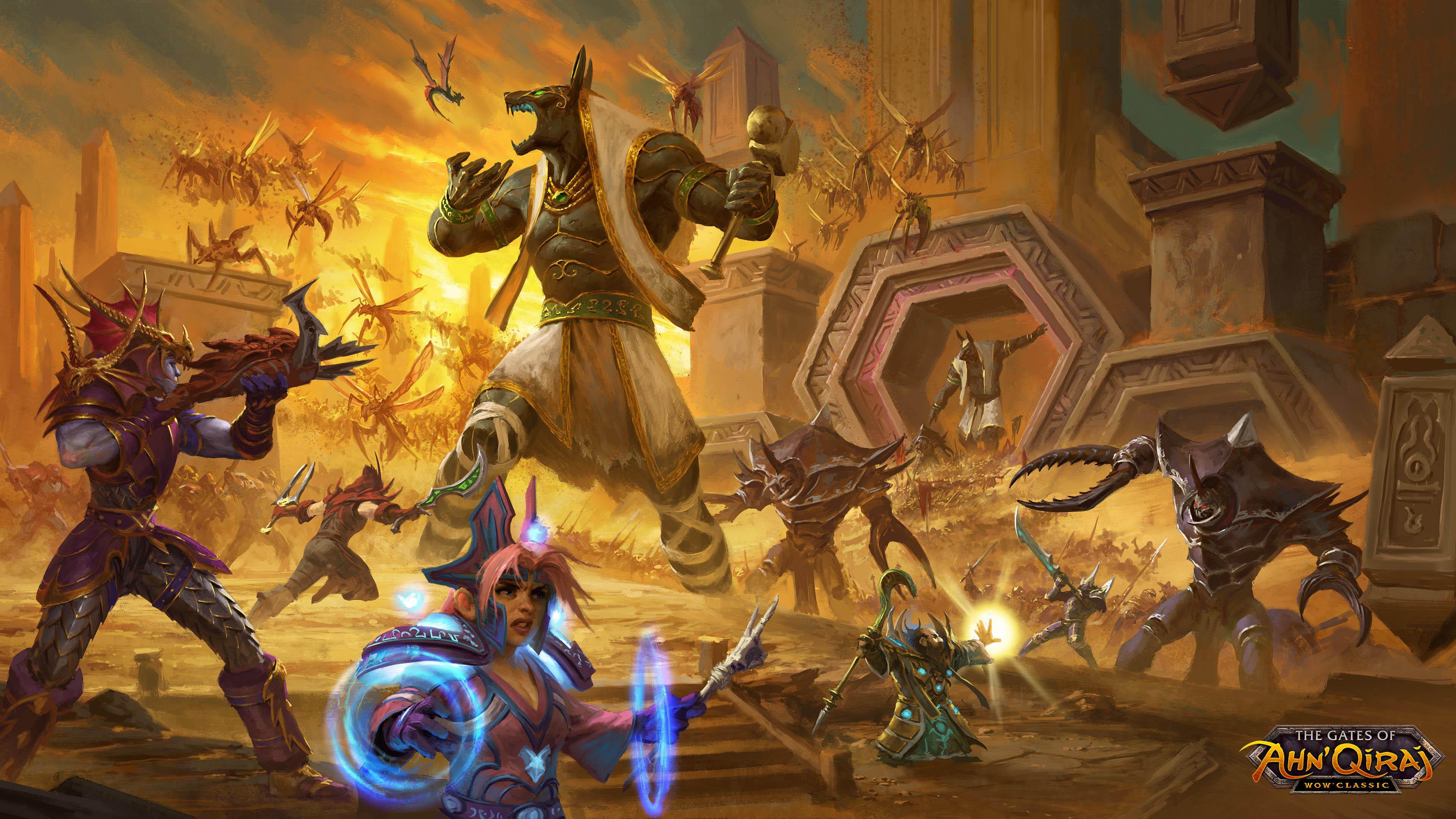 游戏壁纸,魔兽世界,大乱斗,战争,魔法