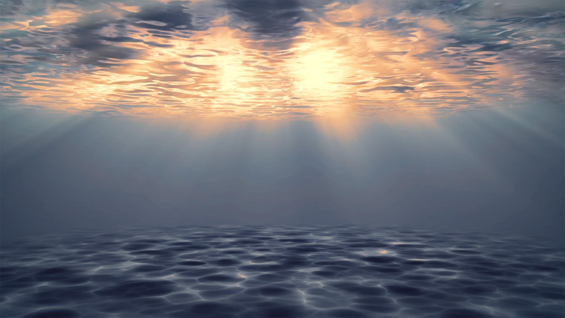 风景大片,海洋天堂,阳光,深海,清澈,空灵,神秘