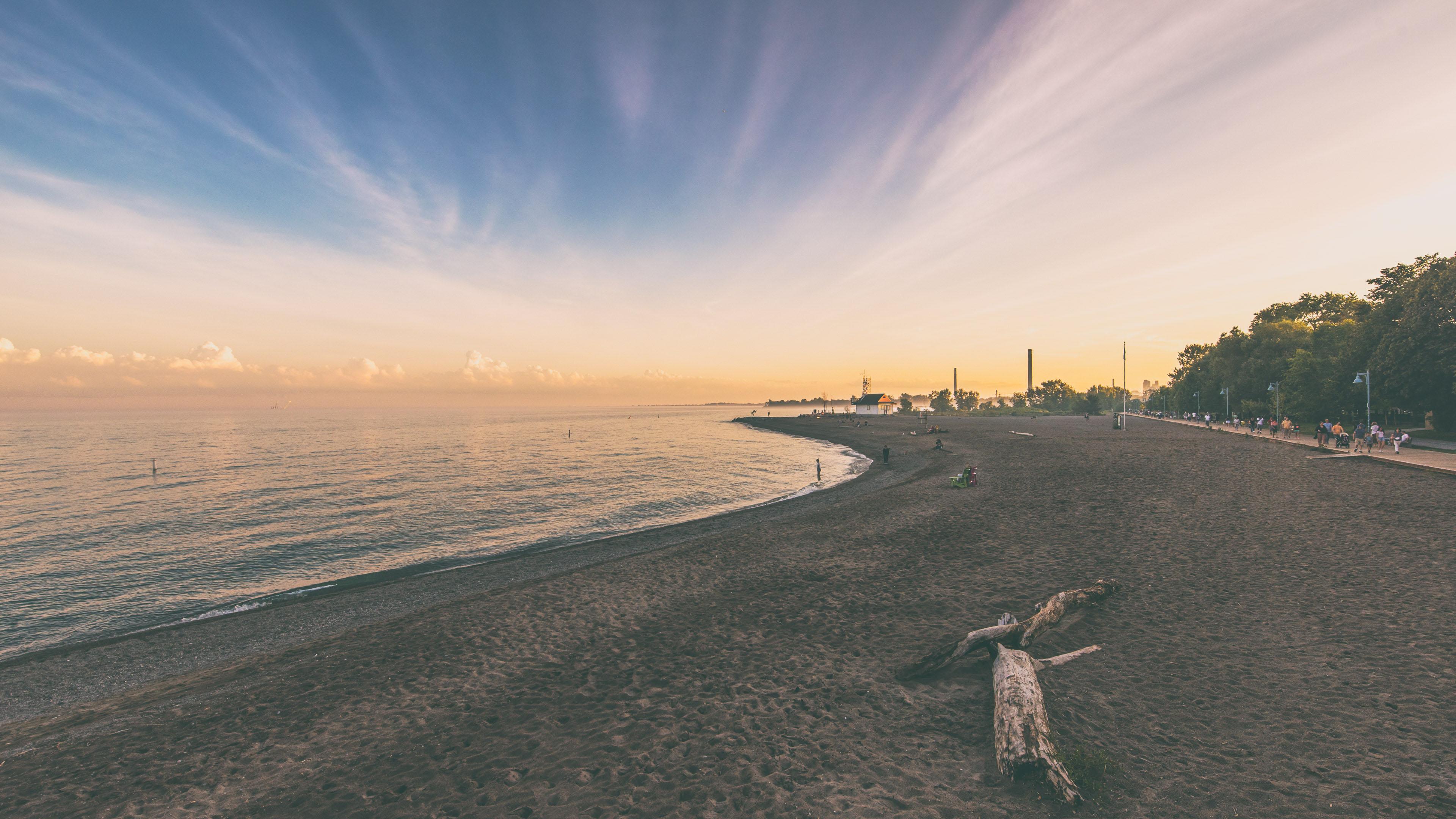 风景大片,海洋天堂,海岸,沙滩,黄昏