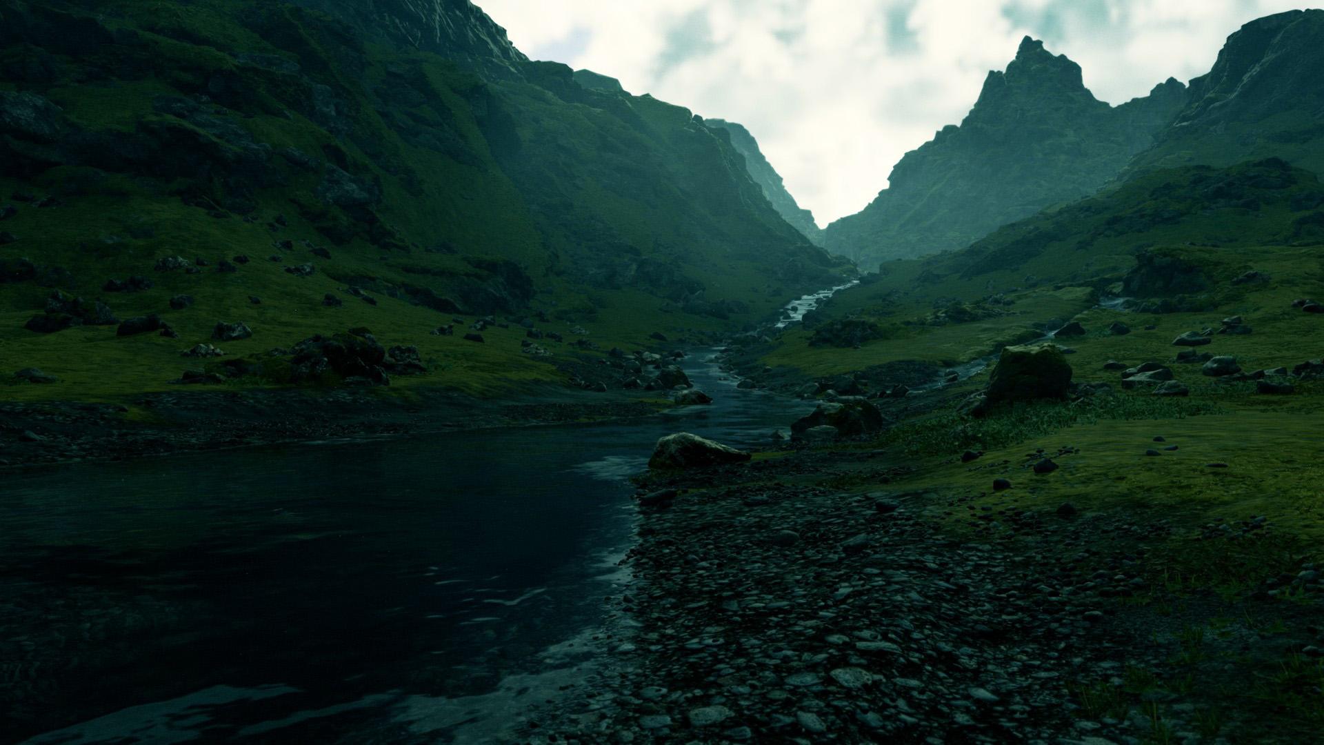风景大片,自然风光,幽幽山谷,清晨,青山
