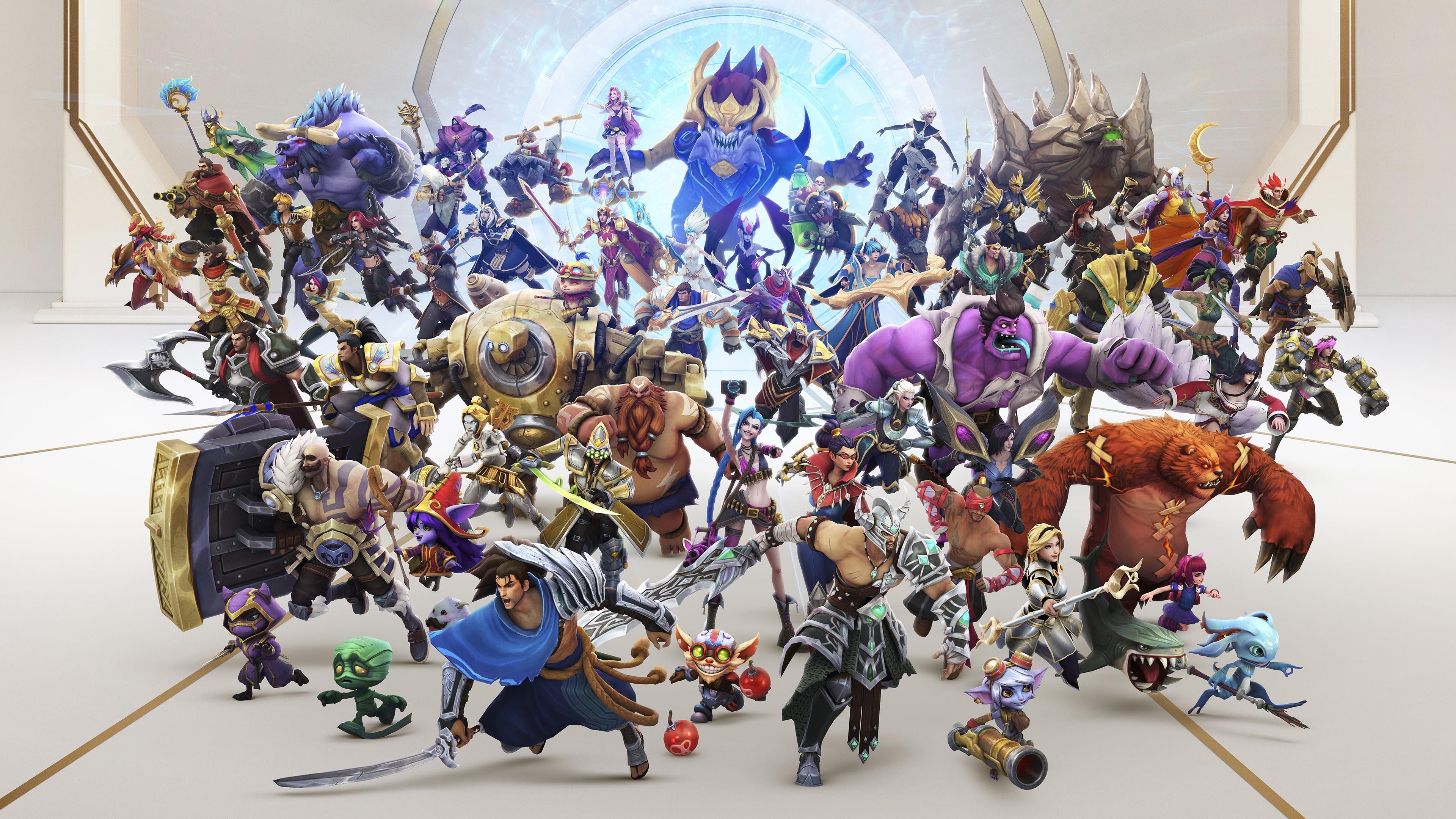 游戏壁纸,英雄联盟,LOL,全明星