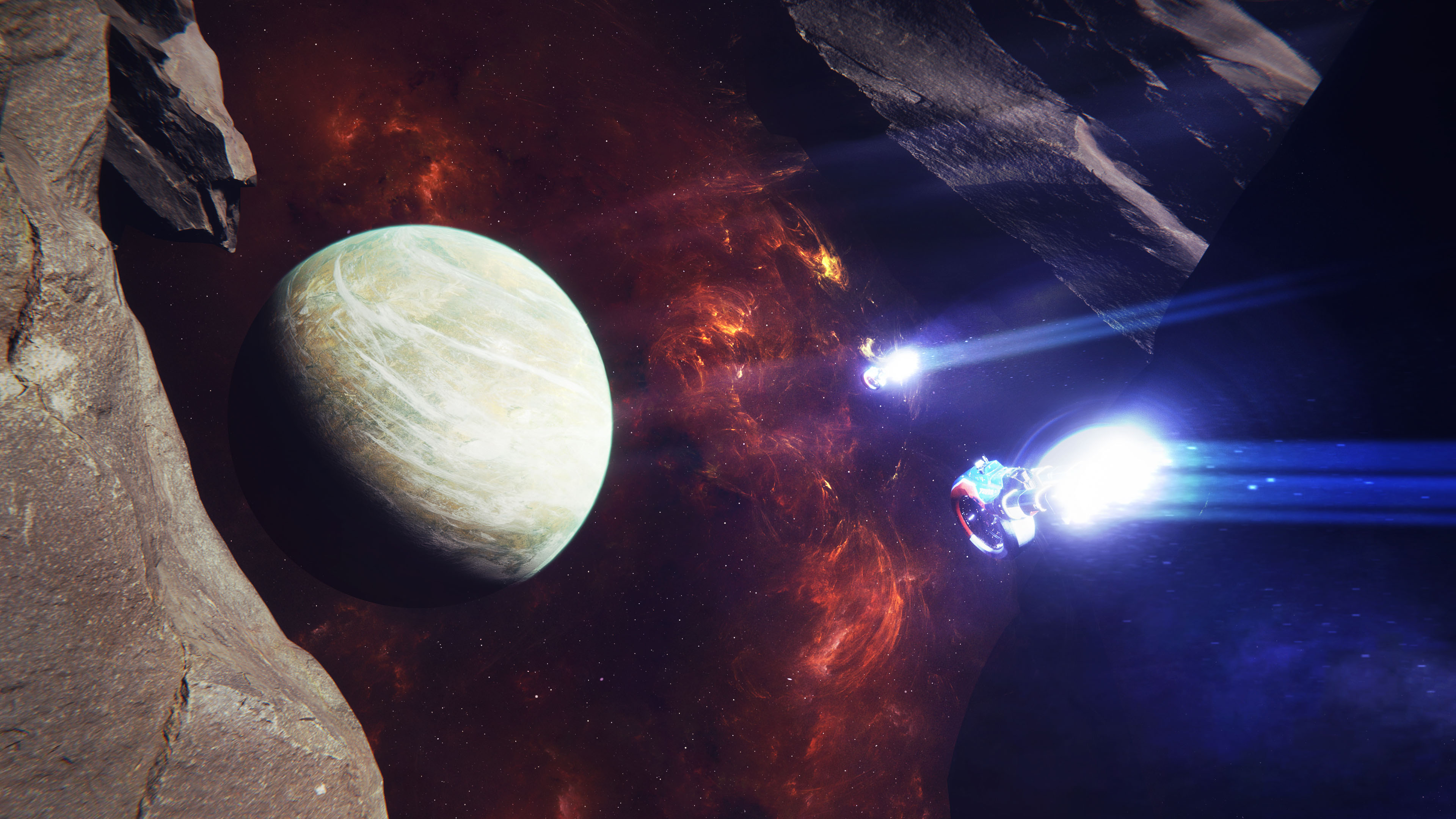 游戏壁纸,主机游戏,宇宙飞船,黑洞,星球
