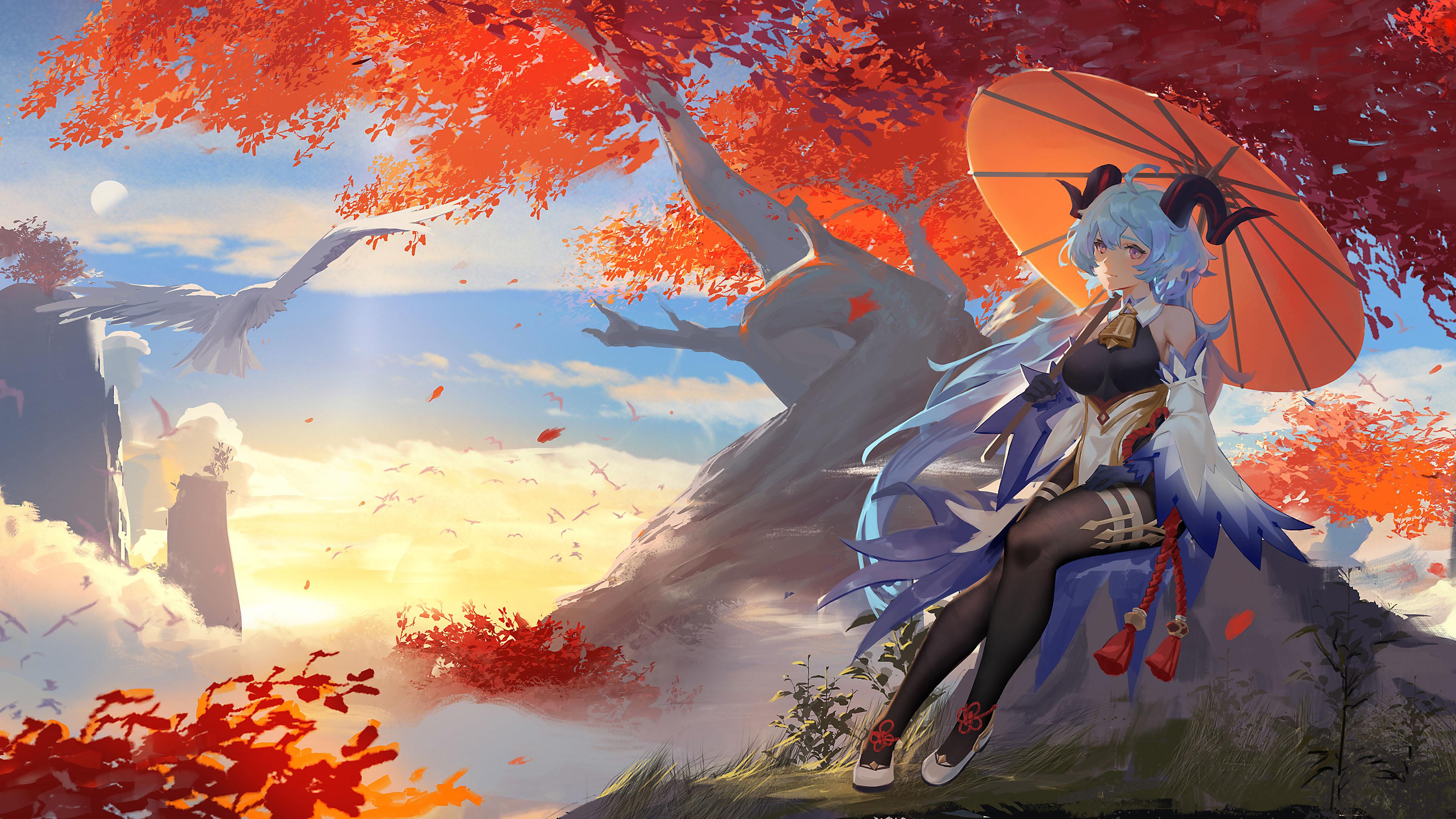 游戏壁纸,手游世界,云顶,山羊,原神,甘雨