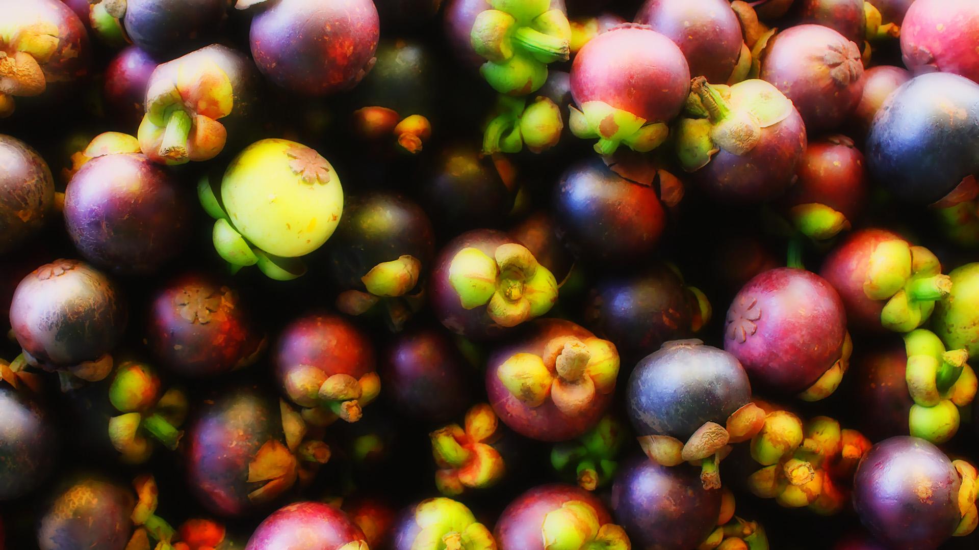 小清新,动感水果,山竹